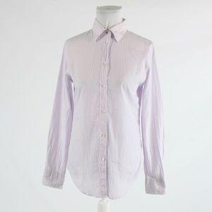 White purple GAP button down blouse 4